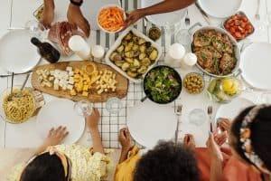mangez sain aux repas